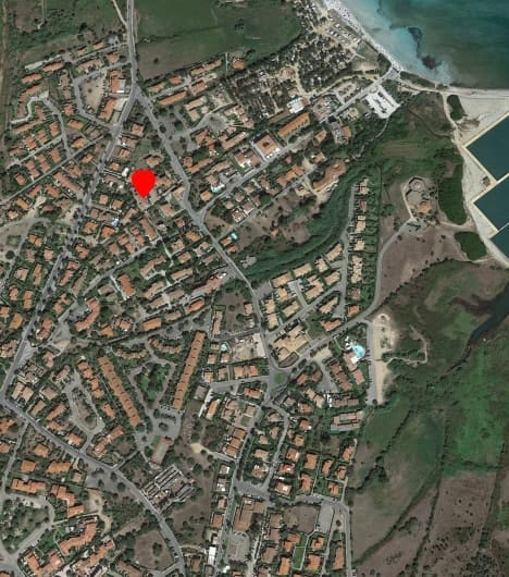 Mappa Residence Arcobaleno San Teodoro