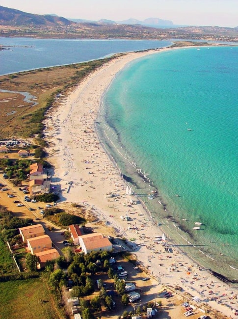 Spiaggia La Cinta Dal Drone