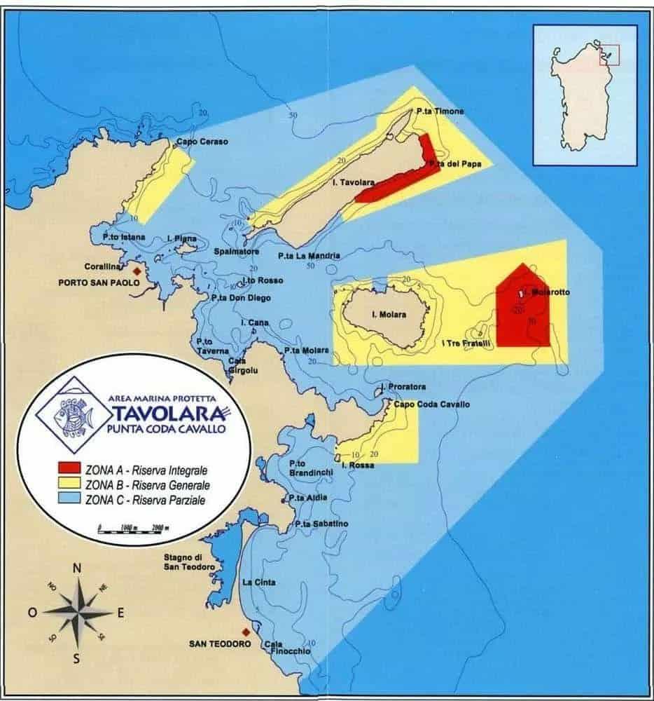 Area Marina Protetta di Tavolara Punta Coda Cavallo