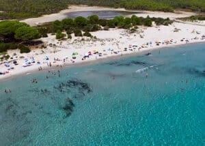 oasi di biderosa dal drone